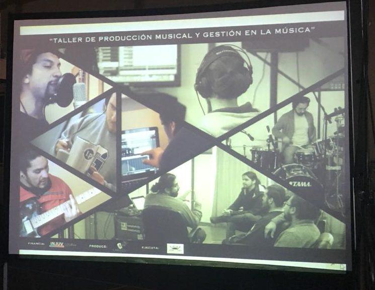 """Photo of lanzamiento del proyecto """"Taller de producción musical y gestión en la música"""""""