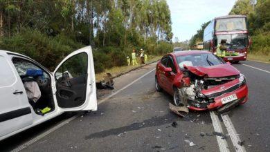 Photo of 5 lesionados deja colisión múltiple en ruta que une Valdivia y Paillaco