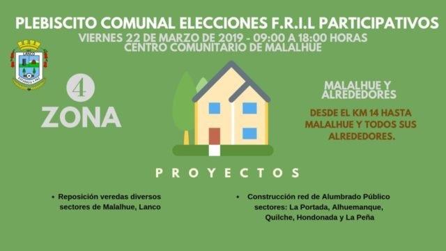 Photo of Se invita a toda la comuna a participar en Plebiscito de elección de proyectos de inversión F.R.I.L