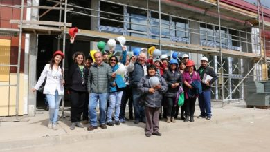 Photo of Usuarios del Cesfam Malalhue constataron avance de un 75 % del nuevo edificio