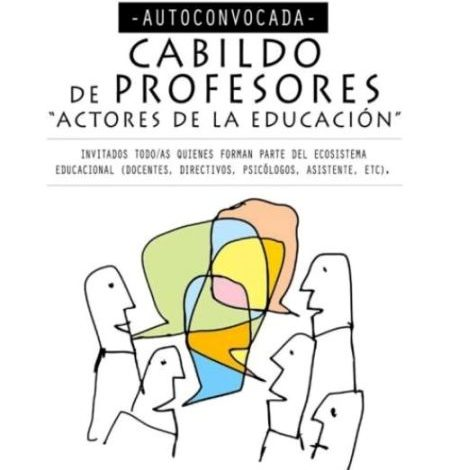 "Photo of ""Actores de la Educación"", Cabildo de Profesores."