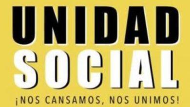 Photo of DECLARACIÓN DE UNIDAD SOCIAL DE RECHAZO AL ACUERDO DE PAZ Y NUEVA CONSTITUCIÓN.